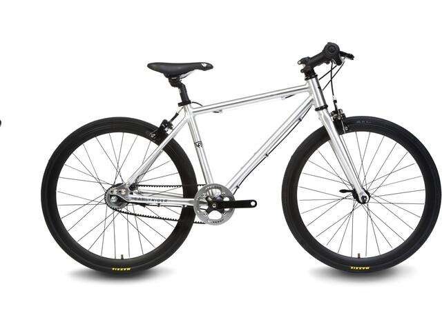 "Early Rider Hellion Urban 20"" Flat Bar Road Kinderrad brushed aluminum"